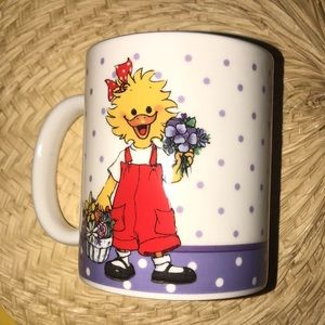 Suzy's Zoo Collectible Mug Suzy's Pansy Bouquet